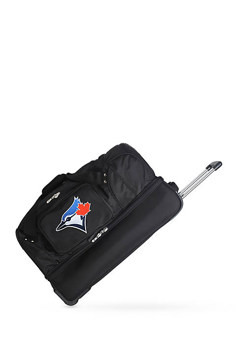 Denco MLB Toronto Blue Jays 27in Wheeled Duffel