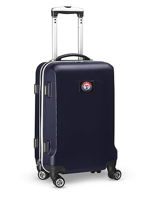 Texas Rangers 20-in. 8 wheel ABS Plastic Hardsided Carry-on