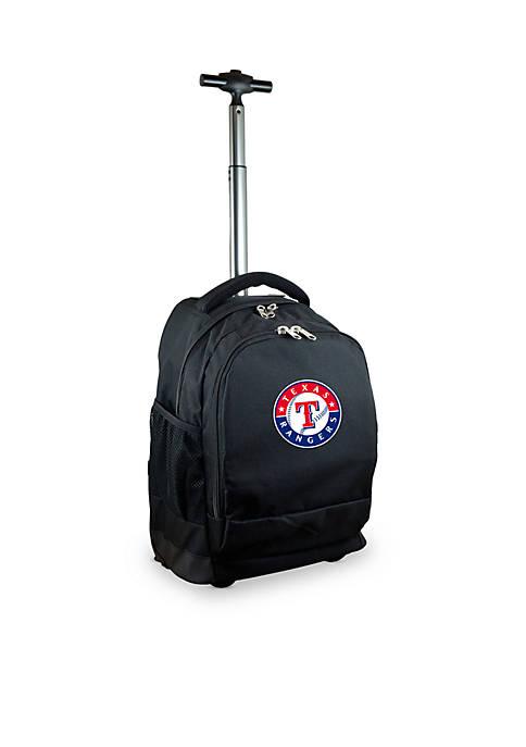 Mojo Texas Rangers Premium Wheeled Backpack