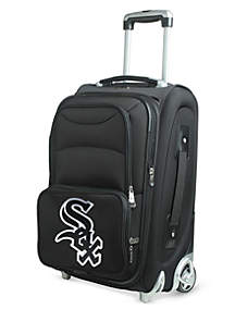 Denco MLB Chicago White Sox Luggage Rolling Carry-On