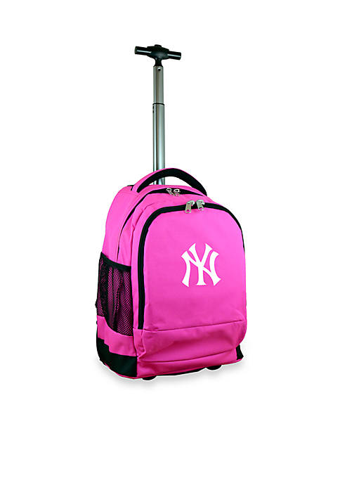 Mojo New York Yankees Premium Wheeled Backpack
