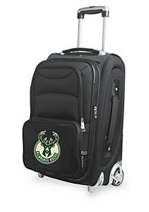 Denco NBA Milwaukee Bucks Luggage Carry-On