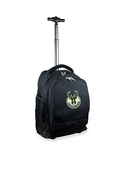 Mojo Milwaukee Bucks Premium Wheeled Backpack