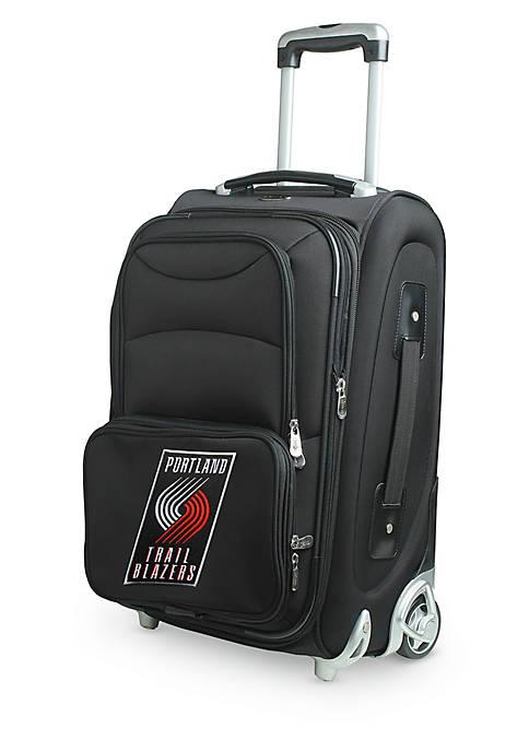 Denco NBA Portland TrailBlazers Luggage Rolling Carry-On