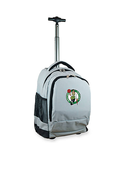 Mojo Boston Celtics Premium Wheeled Backpack