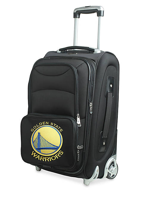 Denco NBA Golden State Warriors Luggage Carry-On 21in