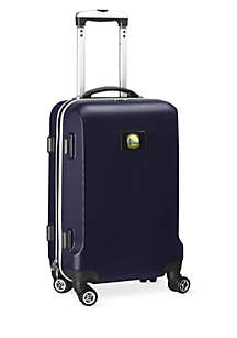 Golden State Warriors 20-in. 8 wheel ABS Plastic Hardsided Carry-on