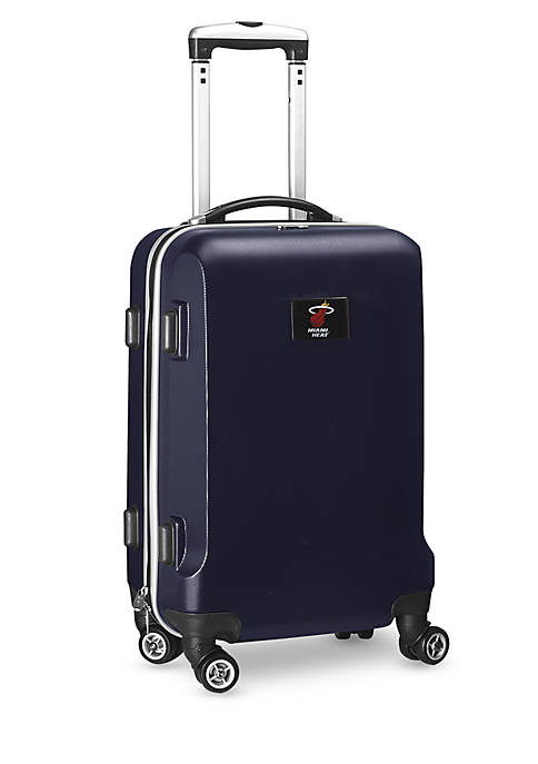 Miami Heat 20-in. 8 wheel ABS Plastic Hardsided Carry-on
