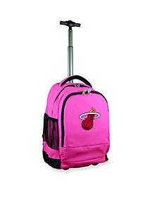 Mojo Miami Heat Premium Wheeled Backpack