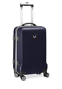 Charlotte Hornets 20-in. 8 wheel ABS Plastic Hardsided Carry-on