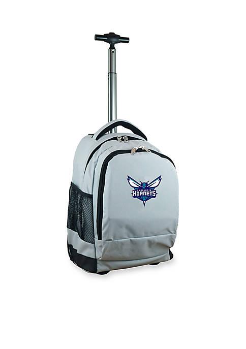 Mojo Charlotte Hornets Premium Wheeled Backpack
