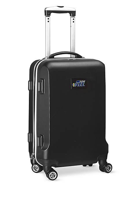 Utah Jazz 20-in. 8 wheel ABS Plastic Hardsided Carry-on