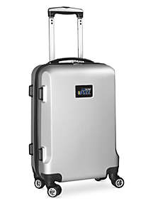 Utah Jazz 20-in. 8 wheel ABS Plastic Hardsided Carry-on