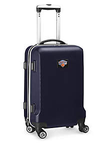 New York Knicks 20-in. 8 wheel ABS Plastic Hardsided Carry-on