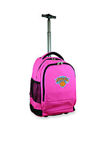 New York Knicks Premium Wheeled Backpack