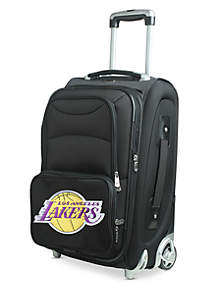 Denco NBA Los Angeles Lakers Luggage Carry-On