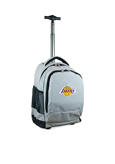 Mojo Los Angeles Lakers Premium Wheeled Backpack