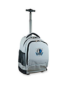 Dallas Mavericks Premium Wheeled Backpack