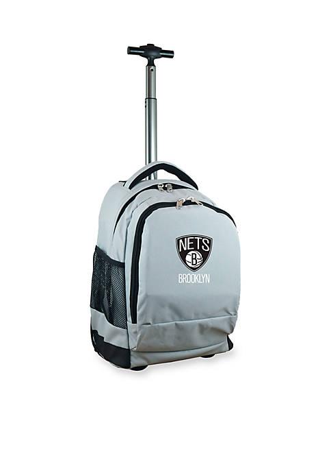 Mojo Brooklyn Nets Premium Wheeled Backpack