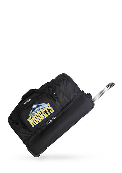 Denco NBA Denver Nuggets 27-in. Wheeled Duffel Nylon