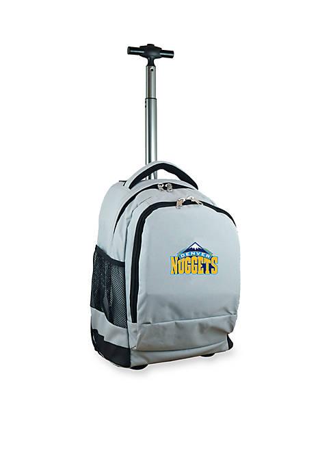 Mojo Denver Nuggets Premium Wheeled Backpack