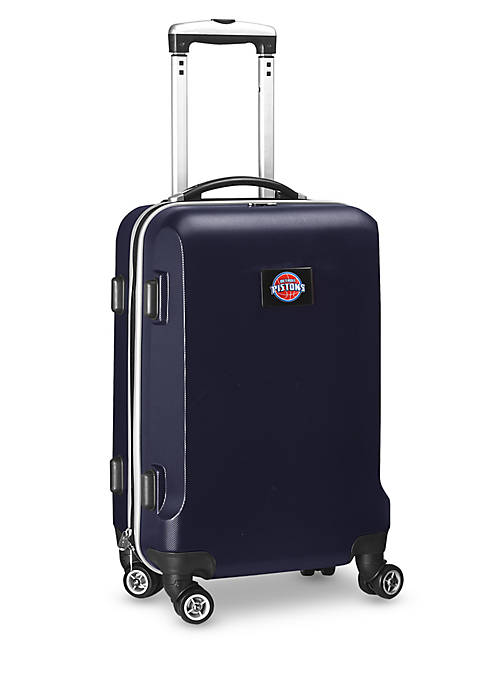 Detroit Pistons 20-in. 8 wheel ABS Plastic Hardsided Carry-on