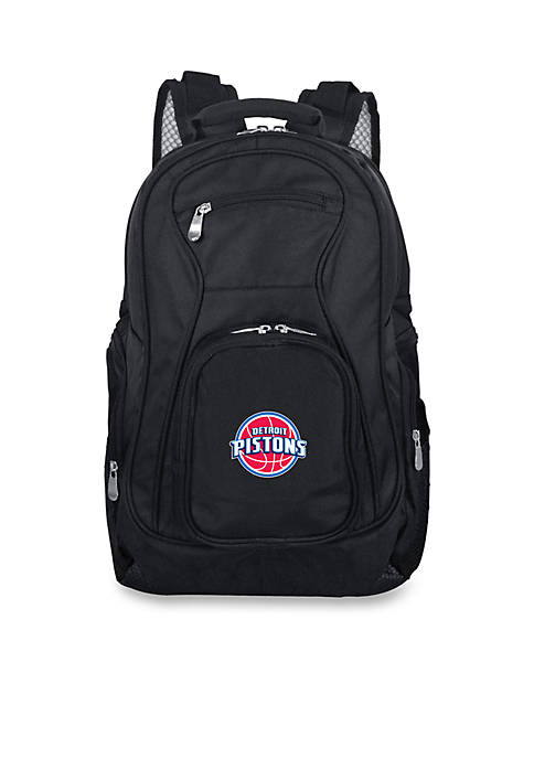Denco Detroit Pistons Premium 19-in. Laptop Backpack