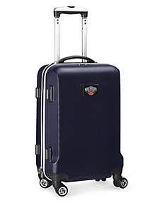 New Orleans Pelicans 20-in. 8 wheel ABS Plastic Hardsided Carry-on