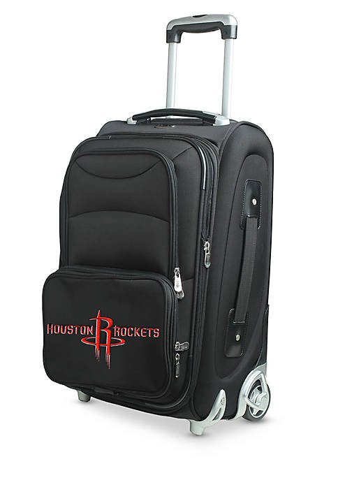 Denco NBA Houston Rockets Luggage Carry-On 21-in. Rolling