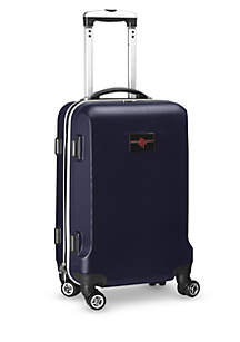Houston Rockets 20-in. 8 wheel ABS Plastic Hardsided Carry-on