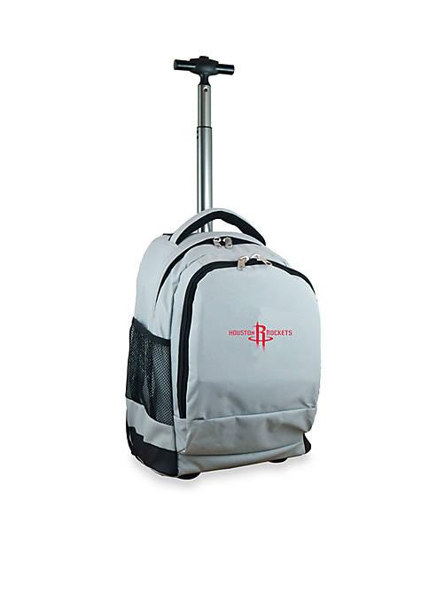 Houston Rockets Premium Wheeled Backpack