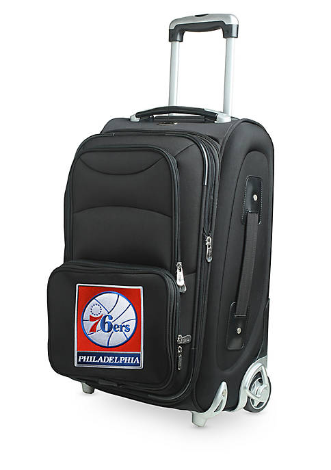 Denco NBA Philadelphia 76ers Luggage Carry-On 21-in. Rolling