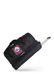 NBA Philadelphia 76ers 27-in. Wheeled Duffel Nylon bag in Black