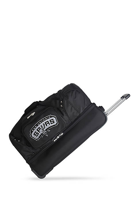 Denco NBA San Antonio Spurs 27in Wheeled Duffel