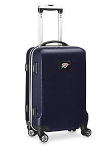 Oklahoma City Thunder 20-in. 8 wheel ABS Plastic Hardsided Carry-on