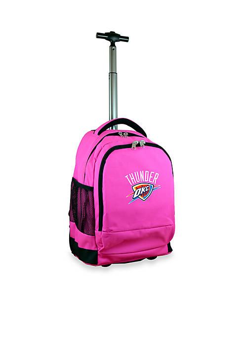 Mojo Oklahoma City Thunder Premium Wheeled Backpack