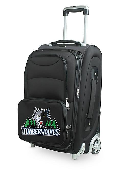 Denco NBA Minnesota Timberwolves Luggage Carry-On