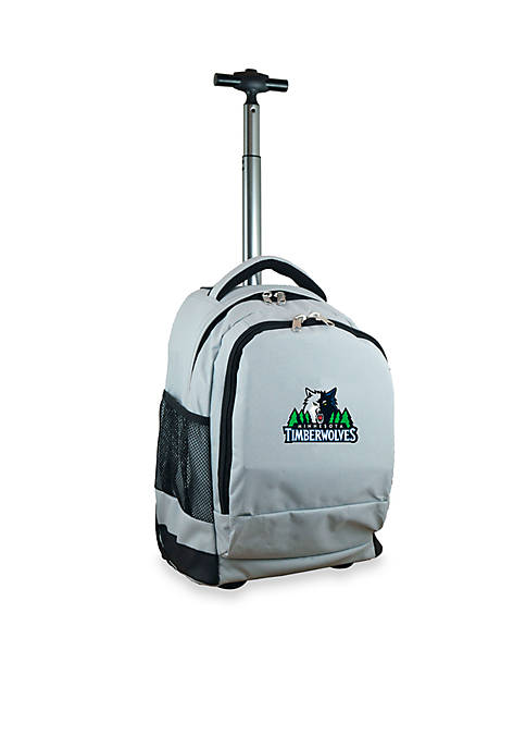 Mojo Minnesota Timberwolves Premium Wheeled Backpack