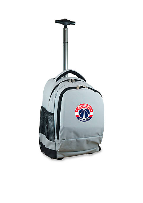 Mojo Washington Wizards Premium Wheeled Backpack