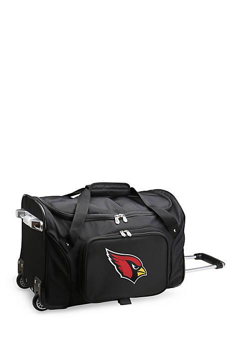 NFL Arizona Cardinals Wheeled Duffel Nylon Bag
