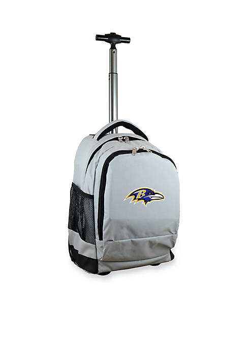 Mojo Baltimore Ravens Premium Wheeled Backpack