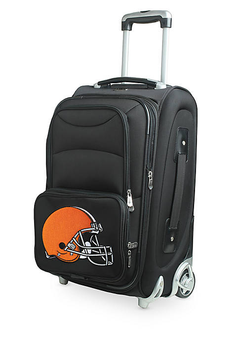 Denco NFL Cleveland Browns Luggage Carry-On