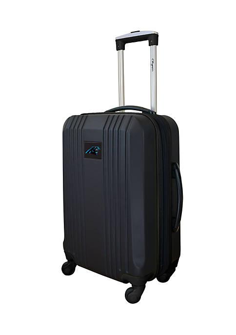 NFL Carolina Panthers 21-in. Hardcase Carry-on Luggage