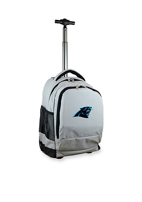 Mojo Carolina Panthers Premium Wheeled Backpack
