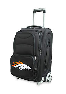 NFL Denver Broncos 20-in. Softsided Luggage Rolling Carry-On