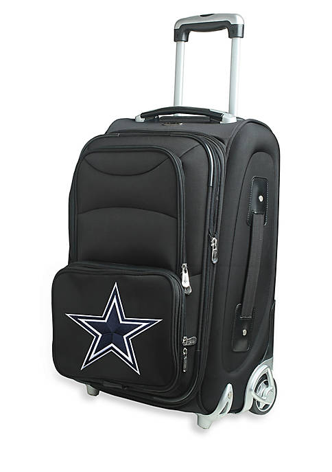 Denco NFL Dallas Cowboys Luggage Carry-On 21-in. Rolling