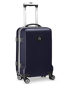 Denco Dallas Cowboys 20-in. 8 wheel ABS Plastic Hardsided Carry-on