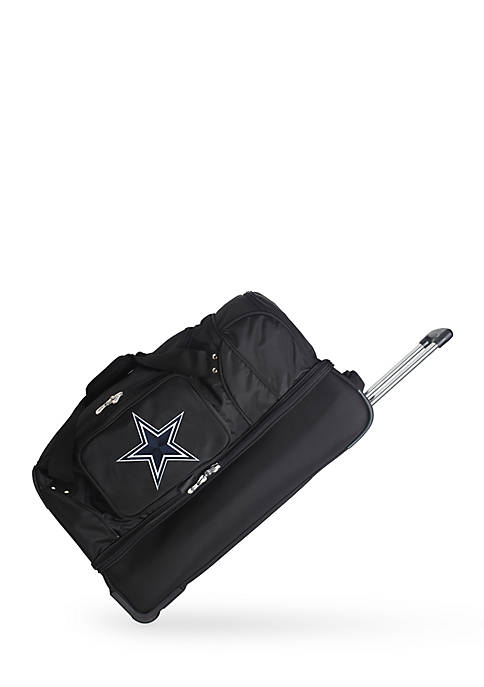 Denco NFL Dallas Cowboys 27-in. Wheeled Duffel Nylon