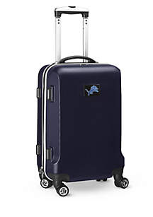 Detroit Lions 20-in. 8 wheel ABS Plastic Hardsided Carry-on