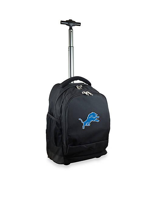 Mojo Detroit Lions Premium Wheeled Backpack